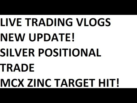 Live Trading Vlog - Mcx Zinc Target Hit, New Strategy Update, Silver Positional Trade