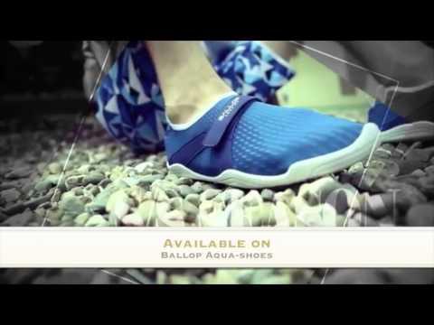 6d7b4b4236b7 Ballop Aqua-shoes by trendysport - YouTube