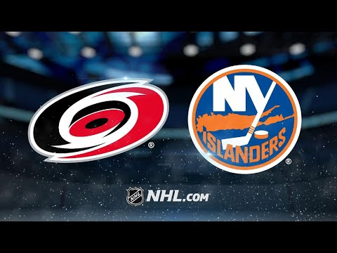 Hurricanes edge Isles on van Riemsdyk's goal