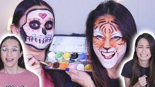 Face Paint Challenge! | Met MeisjeDjamila!