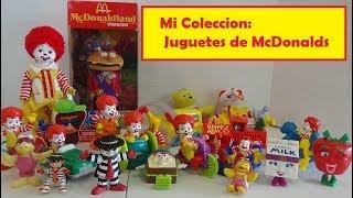 Mi Coleccion de Juguetes de McDonalds - juguetes antiguos