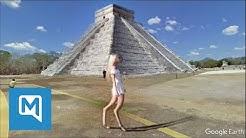 Google Earth: Seltsame Frau in Mexiko gesichtet
