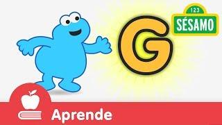 Sésamo: Comegalletas y la letra G
