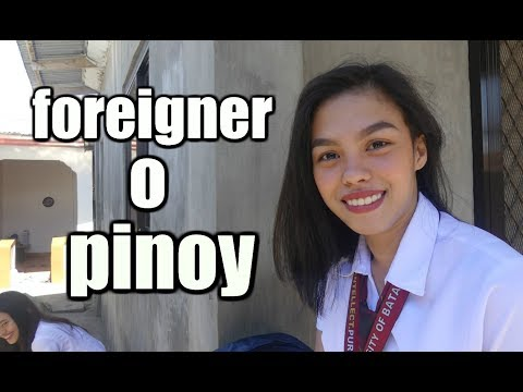 foreigner o pinoy ?