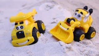 อุบัติเหตุรถก่อสร้างตกสะพาน รถของเล่น รถบรรทุก รถดั้ม รถตักดิน รถแมคโคร รถดับเพลิง เฮลิคอปเตอร์