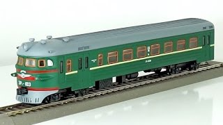 обзор масштабная модель железная дорога № 38/103 электричка Эр1 1:87 (А. Кожуховский) modelling