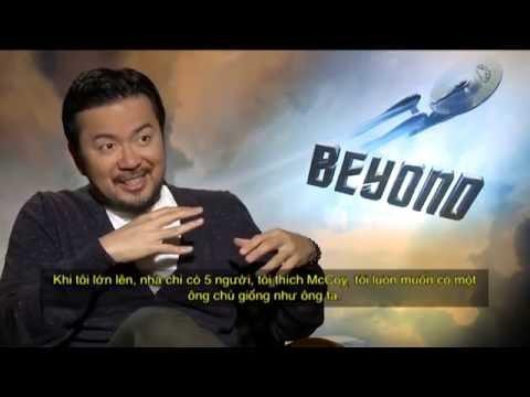 'STAR TREK BEYOND' (2016) Director Justin Lin Discuss Working With John Cho Again