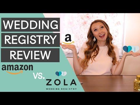 The Best Wedding Registry | Amazon Wedding Registry Vs Zola