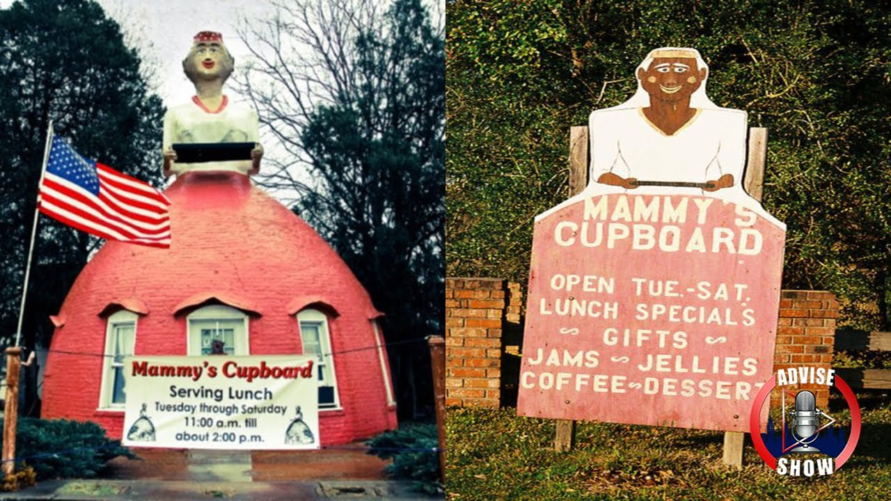 Restaurant Called Mammy S Cupboard In Natchez Ms Use Slavery Caricatures With All White Clientele