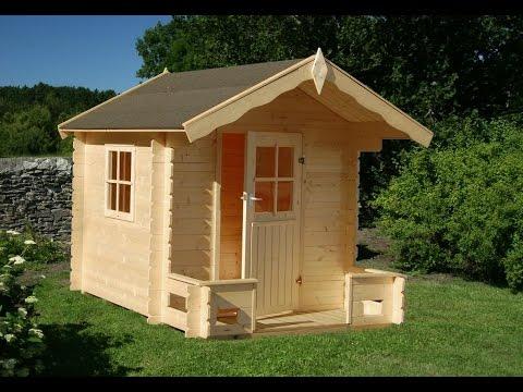 Como hacer una casa de madera peque a youtube for Casas de madera pequenas