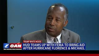 HUD teams up with FEMA to bring aid after Hurricane Florence & Michael