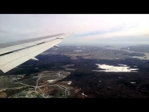 Landing at Halifax International Airport