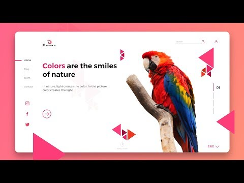 UI UX Design | Website UI Design Tutorial 2019 | Web Design Tutorial In Adobe XD thumbnail