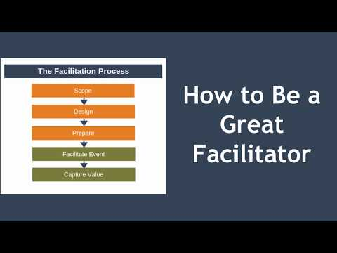 How To Be A Great Facilitator