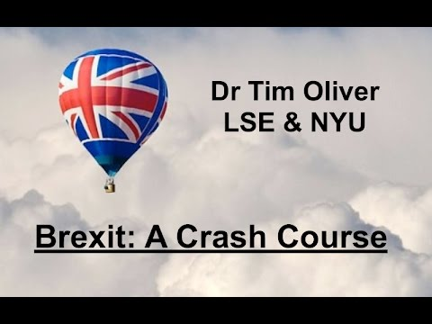 Brexit: A Crash Course - Class 1: Britain and the EU, a History.