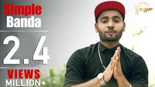 Simple Banda Full Video  Sandy Lohia  Prince  Latest Punjabi Songs  Highlight Records