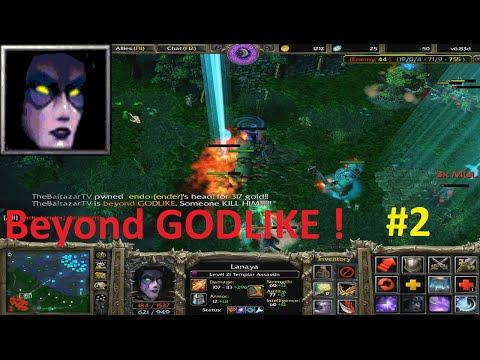 DotA 6.83d - Lanaya, Templar Assassin Beyond GODLIKE ! #2