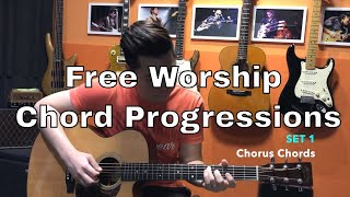 Guitar Emerge - Guitar Tutorial - Free Worship Chord Progressions