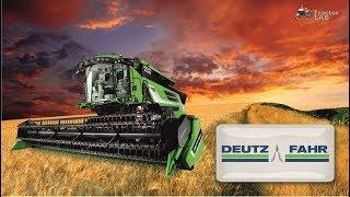 New Deutz Fahr C9300 Series Combines - The 2018 Season Combines | TractorLab
