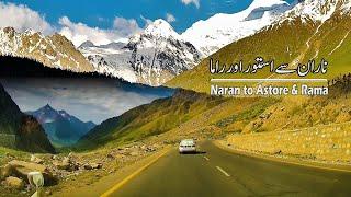Naran to Babusar Top, Astore & Rama | Rama Lake | Road Journey