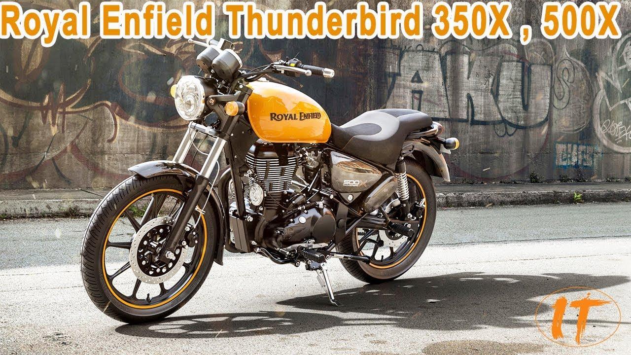 Royal Enfield Thunderbird 350x 2018