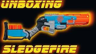 Unboxing Nerf Zombie Strike Sledgefire [deutsch/german]