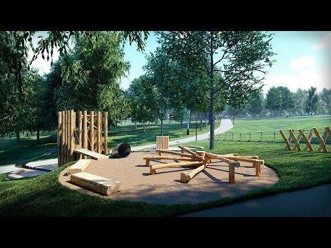 UA: ПОДІЛЛЯ: Жителям Південно-Західного мікрорайону Хмельницького представили ескіз парку