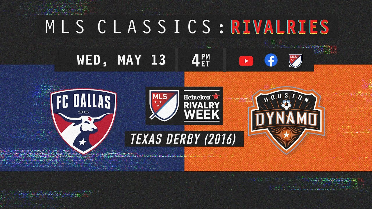 Intense Texas Derby | Dallas FC vs Houston Dynamo | 2016 MLS Classic Rivalry Week