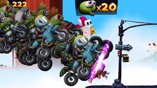 Zombie Riders Z!   Zombie Tsunami Gameplay