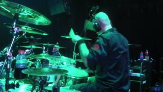 Ryan Van Poederooyen Drumcam (Devin Townsend Project) 'Ziltoidian Empire' Los Angeles, CA, 2014