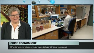 Coronavirus : chute dramatique des marchés boursiers – Daniel Béland et Geneviève Tellier