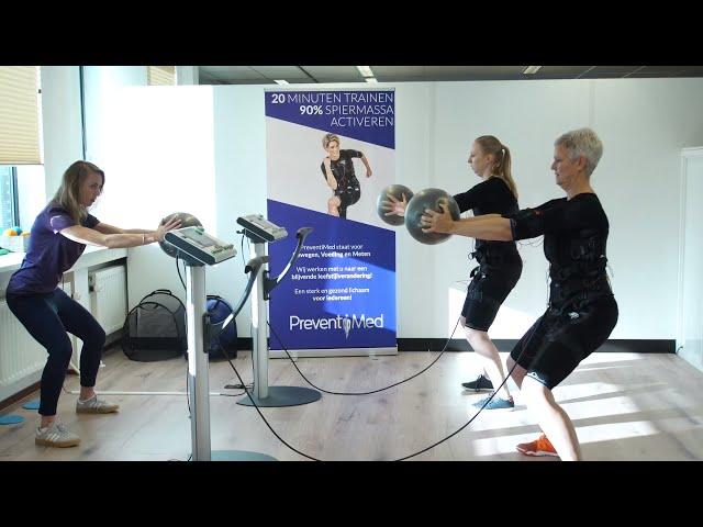 EMS Bodytec Training bij PreventiMed Alkmaar Sterk & Gezond