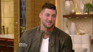 """Tim Tebow on His Book """"Shaken"""""""