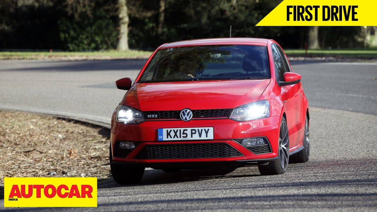 Volkswagen Polo GTI | First Drive | Autocar India - YouTube
