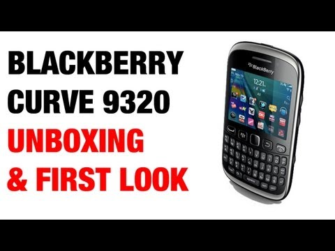 Blackberry curve 9320 video clips.