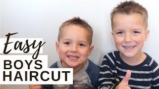 DIY Boys Haircut | Easy & Fail Proof!!! (Any mom can do this!)