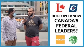Do people know Canada's federal leaders? | Federal Election