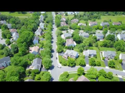 Centreville Virginia VA 20120  neighborhood Drone view