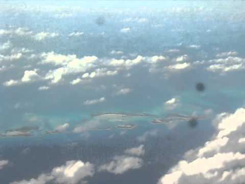 Take off from Exuma Bahamas