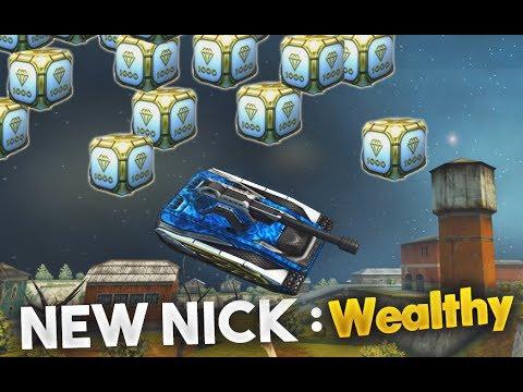 Tanki Online Gold Box Rain & New Nickname