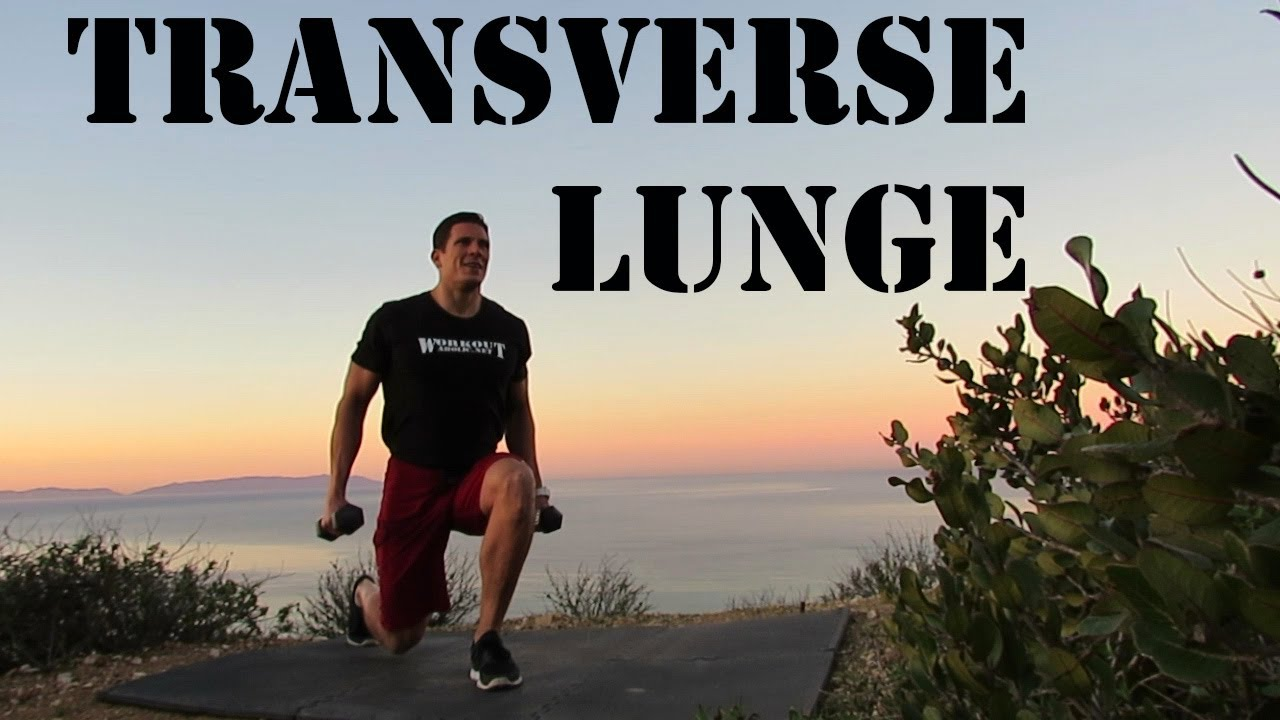 Transverse Lunge - YouTube
