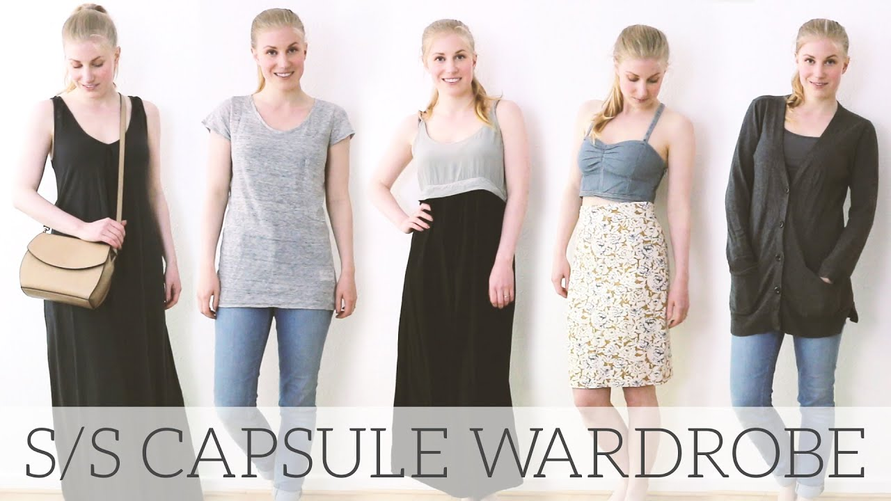 Capsule Wardrobe Spring Summer 2016 Project 333 Youtube
