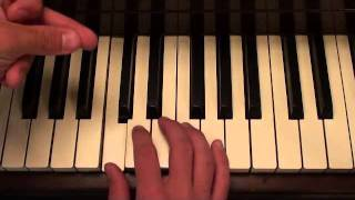 Lighters - Bad Meets Evil and Bruno Mars (Piano Lesson by Matt McCloskey)