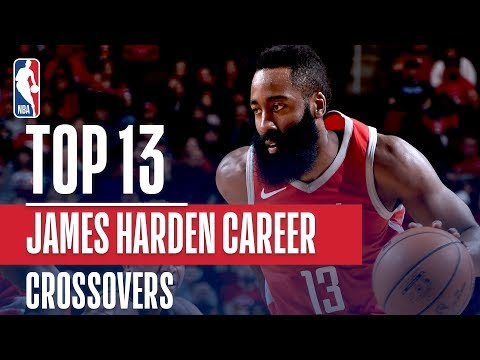 James Harden Top 13 Career CROSSOVERS!