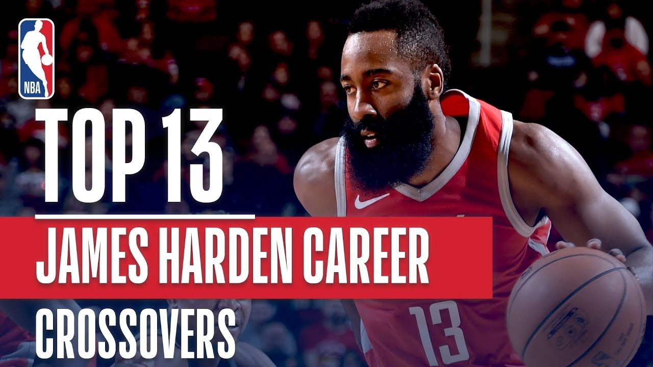 13e224e2f443 James Harden Top 13 Career CROSSOVERS! - YouTube
