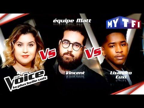 Karla VS Vincent Vella VS Lisandro Cuxi   The Voice France   Epreuve Ultime