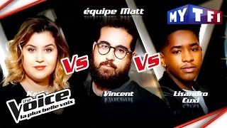 Karla VS Vincent Vella VS Lisandro Cuxi  | The Voice France 2017 | Epreuve Ultime