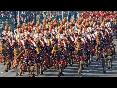New Delhi shows off military power, national culture on Republic Day