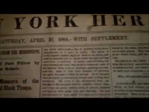 The New York Herald Newspaper From April 16, 1864 With American Civil War News