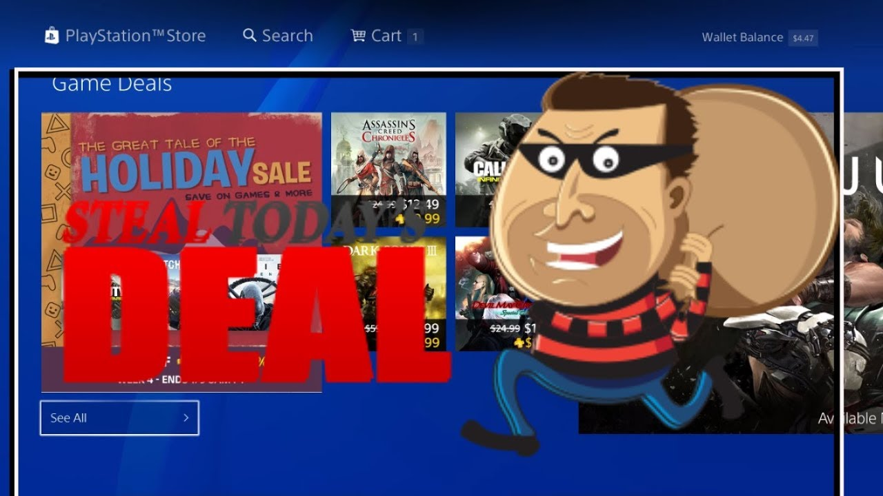 PS4 DEALS Week 4 The Tale of the HOLIDAY SALE 2018 PSN - January PS4 PS  PLUS GAMES